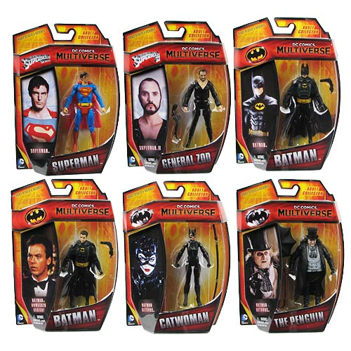 Batman DC Comics Multiverse 4-Inch Action Figure Wave 1 Case