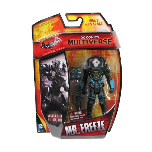 DC Comics Multiverse Mr. Freeze 4-Inch Action Figure