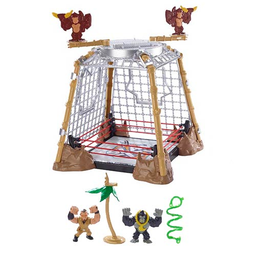 WWE Slam City Gorilla Steel Cage Match Playset