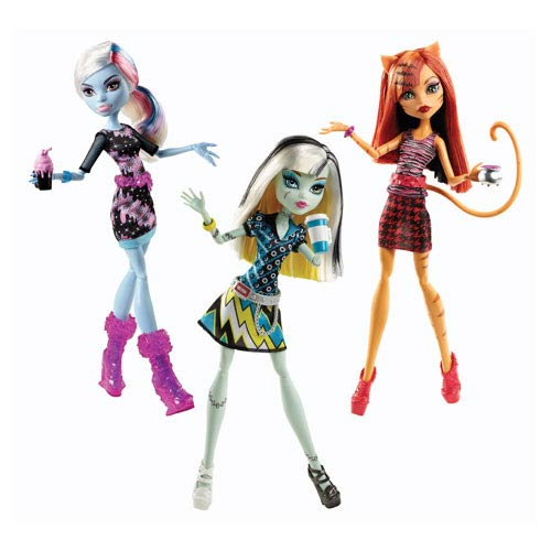 Monster High Coffin Bean Dolls Set
