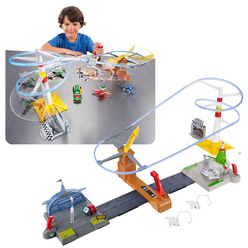 Disney Planes Flight To The Finish Speedway Track Playset