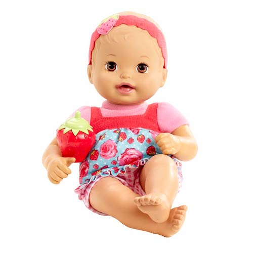 Little Mommy Baby So New Picnic Bloomer Caucasian Doll