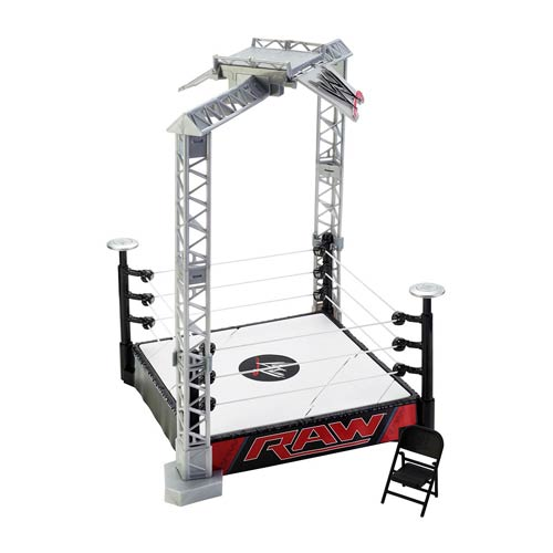 WWE Super Strikers Slam N Launch Arena Playset