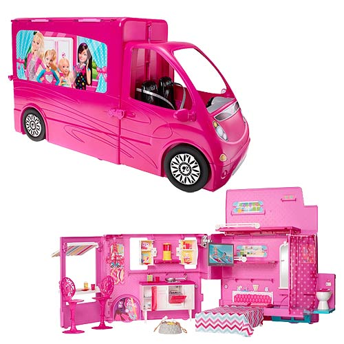 Barbie Sisters Life in the Dreamhouse Camper Vehicle Playset