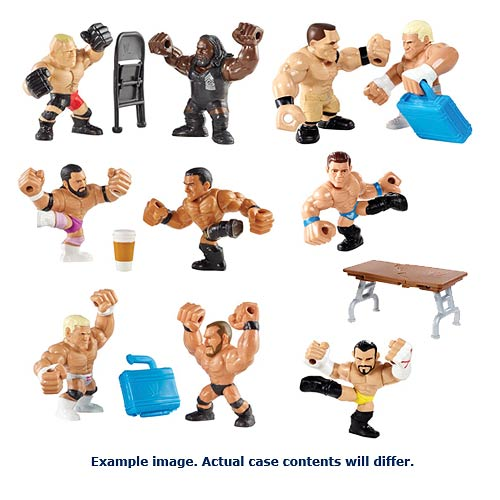 WWE Slam City Wave 2 Mini-Figure with Accessory 2-Pack Case