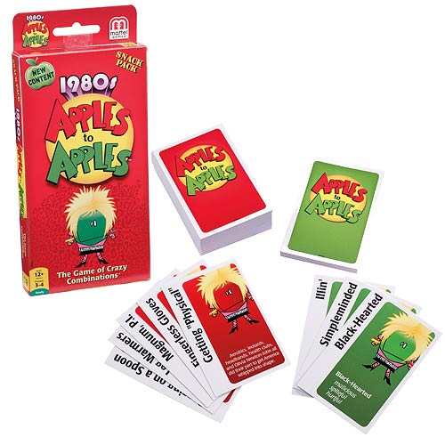 Apples to Apples Snack Pack 1980s Game