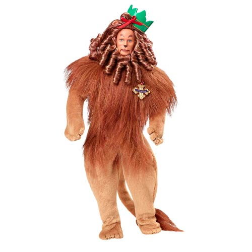 Wizard of Oz Cowardly Lion Barbie Doll