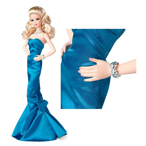 The Barbie Look Blue Gown Doll