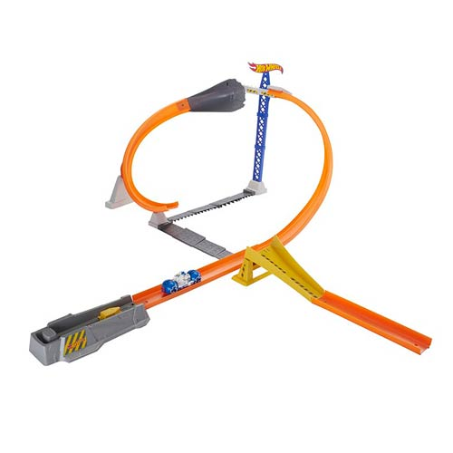 Hot Wheels Moto Track Stars Hyper Loop Extreme Playset