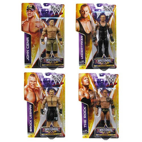 WWE WrestleMania 30 Wave 1 Basic Action Figure Case