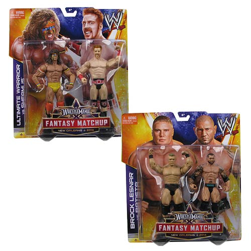 WWE WrestleMania 30 Wave 1 Battle Pack Action Figure Set