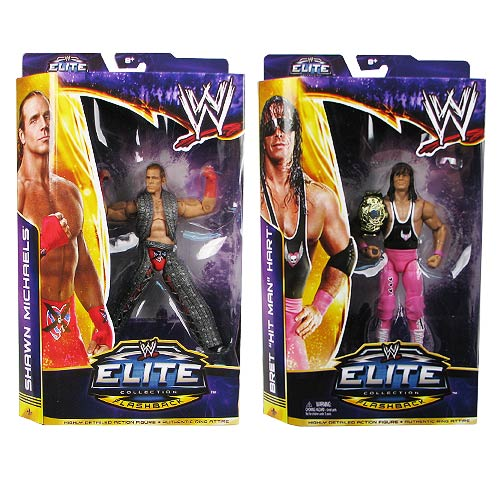 WWE WrestleMania 30 Elite Wave 1 Action Figure Set