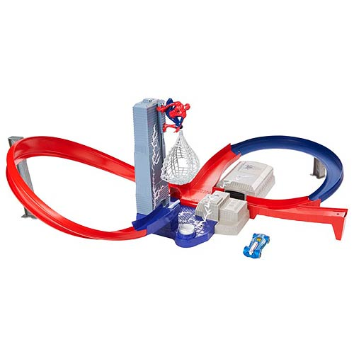 Spider-Man 2 Hot Wheels Speed Circuit Showdown Playset