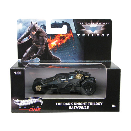 Batman Dark Knight Batmobile Elite One 1:50 Die-Cast Vehicle