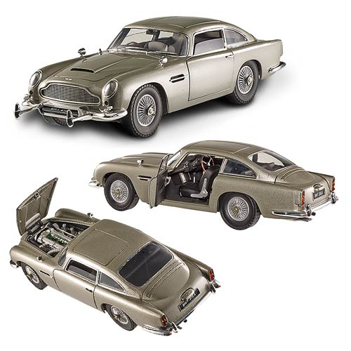 James Bond Goldfinger Aston Martin DB5 1:18 Hot Wheels Elite