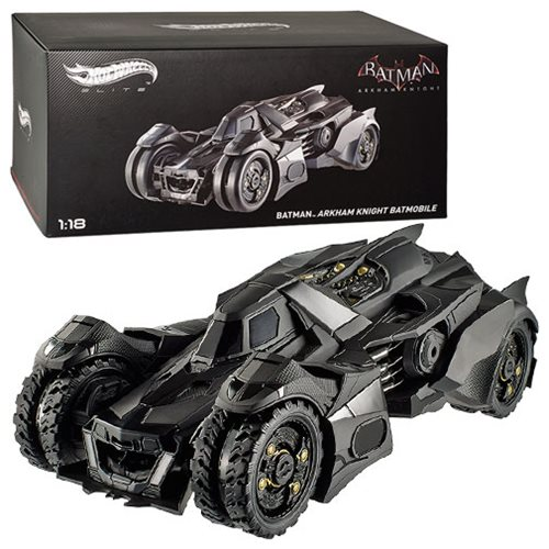 Batman Arkham Knight Batmobile 1:18 Hot Wheels Elite Vehicle
