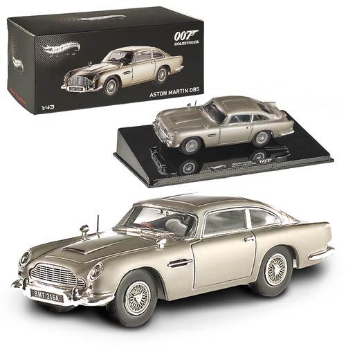 Aston Martin Db5 Hot Wheels: James Bond Goldfinger Aston Martin DB5 1:43 Hot Wheels