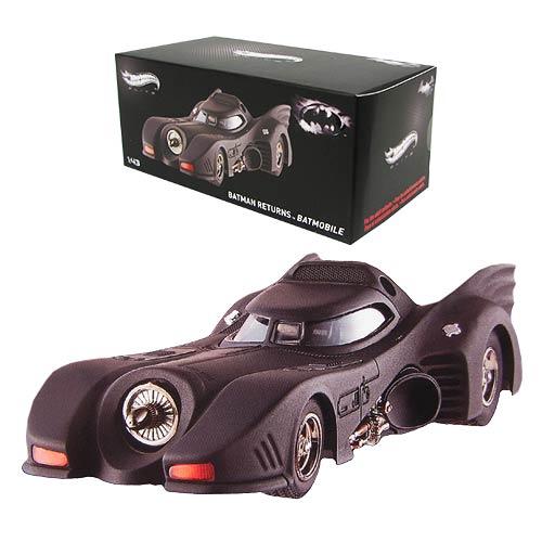 Batman Returns Batmobile 1:43 Hot Wheels Elite Vehicle