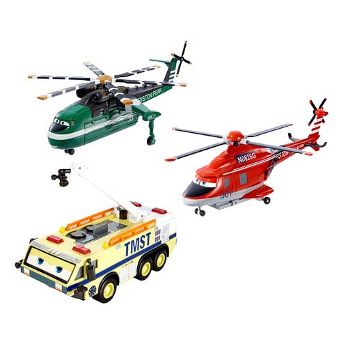 Planes Fire & Rescue Oversized Vehicles Wave 1 Rev. 1