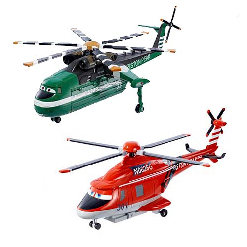 Planes Fire & Rescue Oversized Vehicles Wave 1 Set