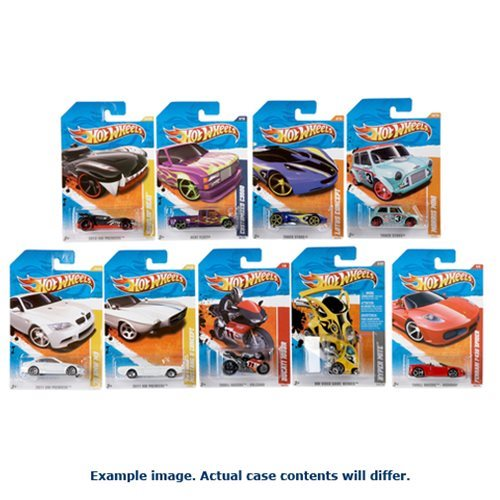 Hot Wheels Worldwide Basic Cars 2018 Wave 3 Case