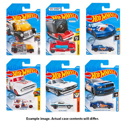 Hot Wheels Worldwide Basic Cars 2019 Wave 7 Case