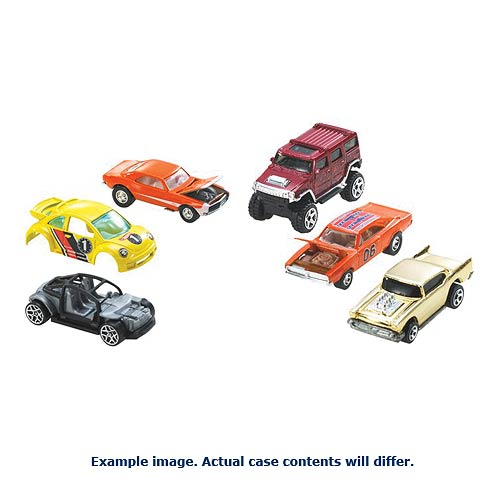Hot Wheels Worldwide Basic Cars 2014 Wave 3 Rev. 7 Case
