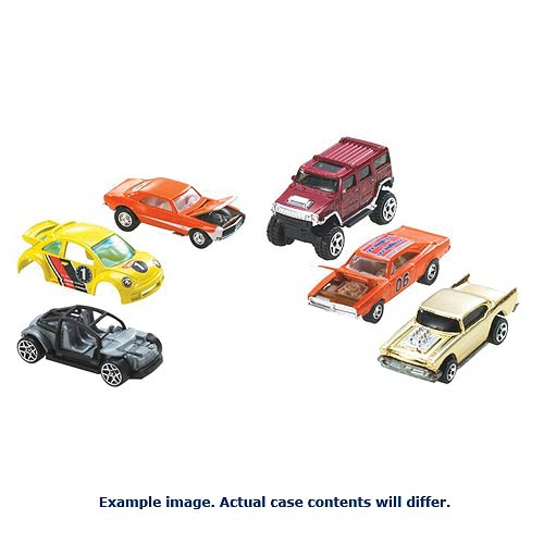 Hot Wheels Worldwide Basic Cars 2014 Wave 5 Rev. 1 Case