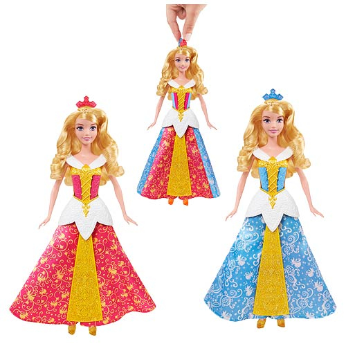 Sleeping beauty color changing dress pictures