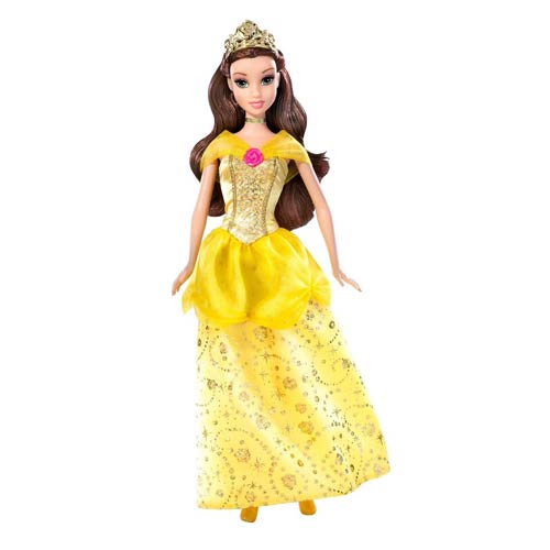 Beauty and the Beast Disney Princess Belle Sparkling Doll