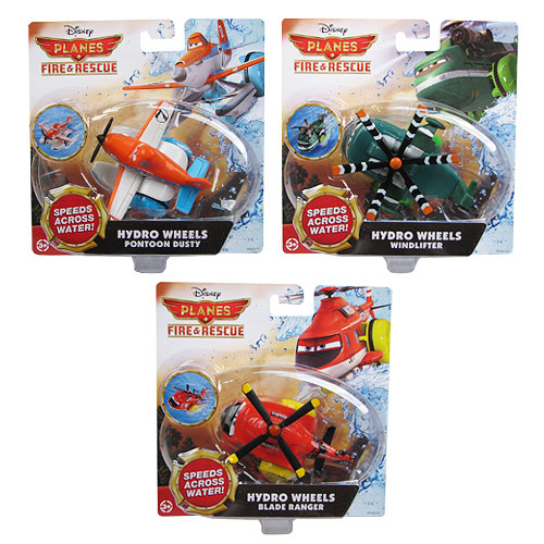 Planes Fire and Rescue Bath Vehicles Case