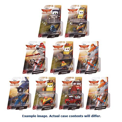 Planes Fire & Rescue Vehicles Wave 1 Revision 2