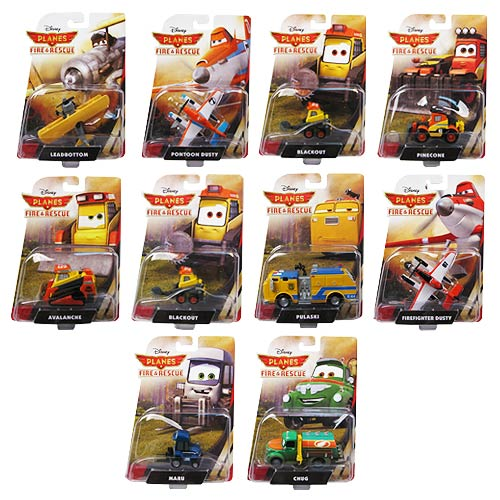 Planes Fire & Rescue Vehicles Wave 1 Revision 6