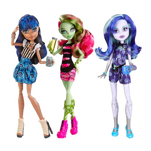 Monster High Coffin Bean Dolls Case