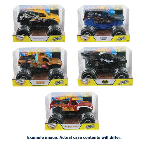Hot Wheels Monster Jam 1:24 Scale 2014 Wave 1 Case