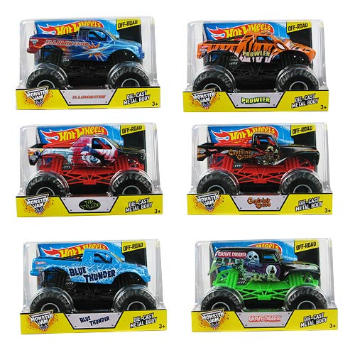 Hot Wheels Monster Jam 1:24 Scale 2014 Wave 2 Case
