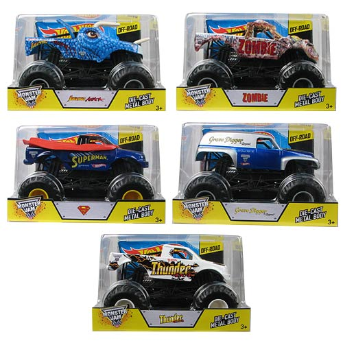 Hot Wheels Monster Jam 1:24 Scale 2014 Wave 9 Case