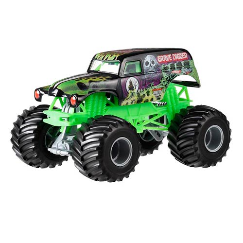Hot Wheels Monster Jam Grave Digger 1:24 Scale Vehicle