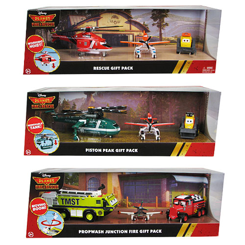 Planes Fire Rescue Gift Pack Die-Cast Vehicle Figure Case