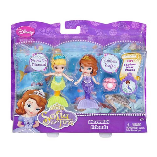 Disney Sofia the First 3-Inch Doll 2-Pack