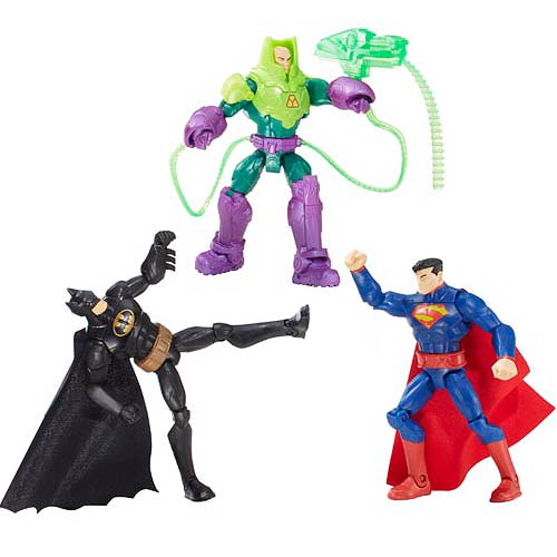 Batman DC Heroes Battle in Box Action Figure 3-Pack