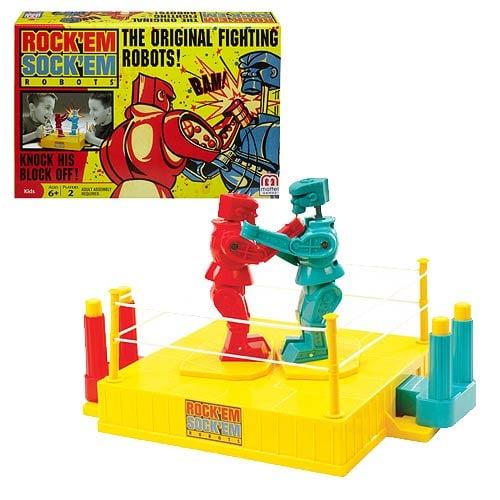 Rock Em Sock Em Robots Game