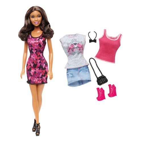 Barbie African American Doll and Fashions Pack