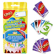 UNO Happy Birthday Card Game