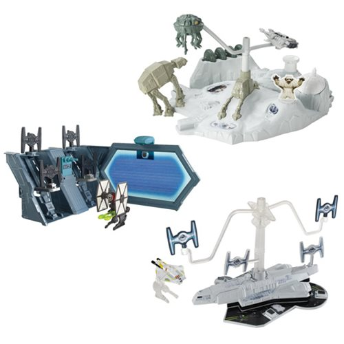 Star Wars Hot Wheels Starship Playset Case