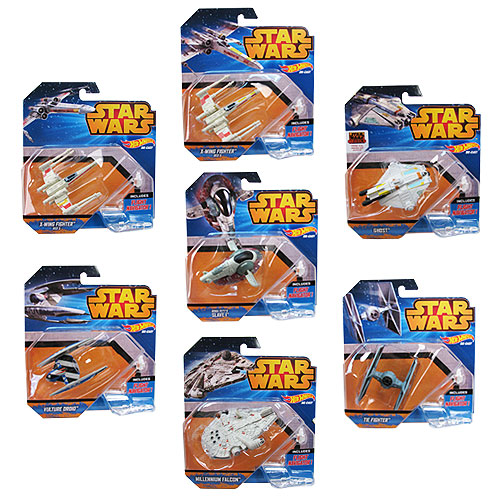 Star Wars Hot Wheels Starships Case