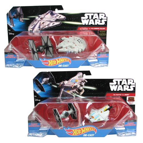 Star Wars Hot Wheels Starship 2-Pack Case