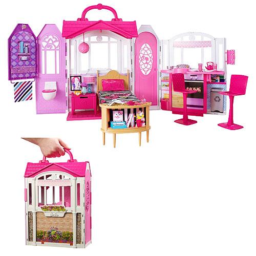 Barbie Glam Getaway House Playset