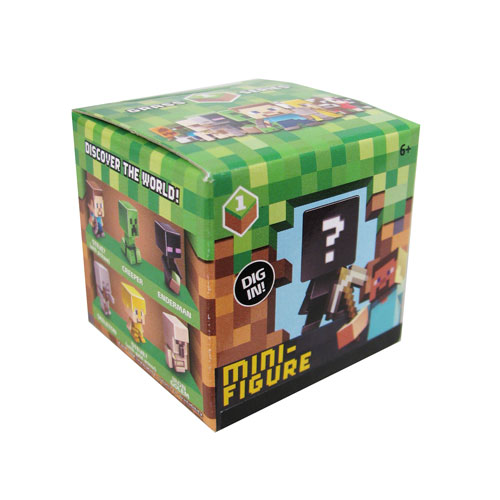 Minecraft Collectible Figures Wave 1 Singles 6-Pack