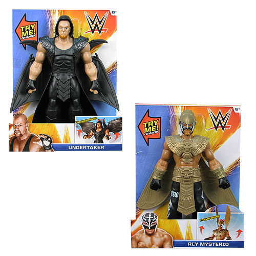 WWE Big Reveal 12-Inch Transforming Action Figure